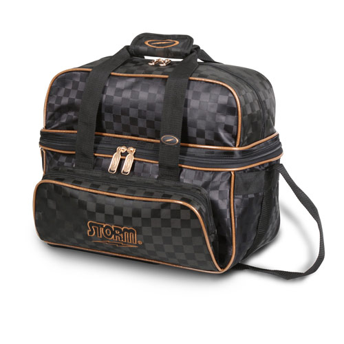 2 Ball Deluxe Tote Black/Gold