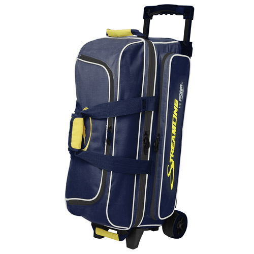 Streamline 3 ball roller Navy/Gray/Yellow
