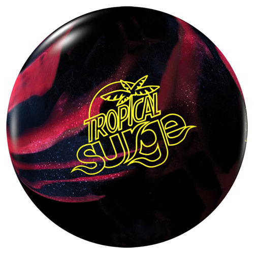 Tropical Surge - Black Solid/Cherry Pearl