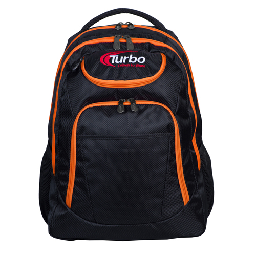 Shuttle Backpack Black/Orange