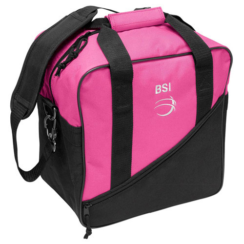 Solar III Single Tote Black/Pink