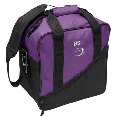 Solar III Single Tote Black/Purple