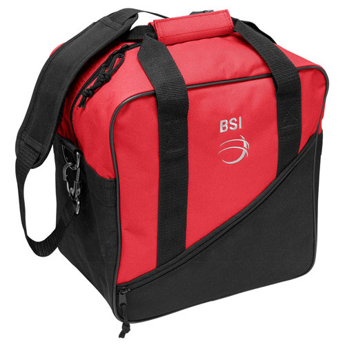 Solar III Single Tote Black/Red