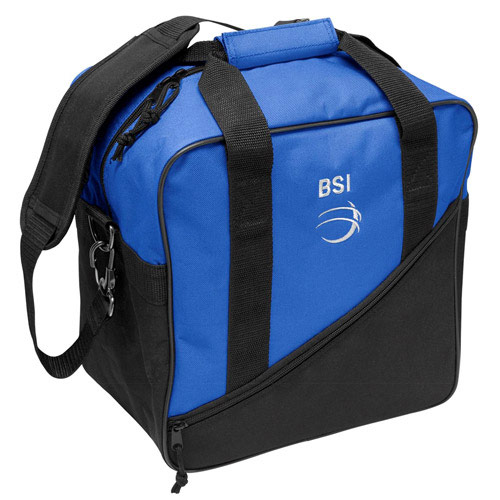 Solar III Single Tote Black/Royal