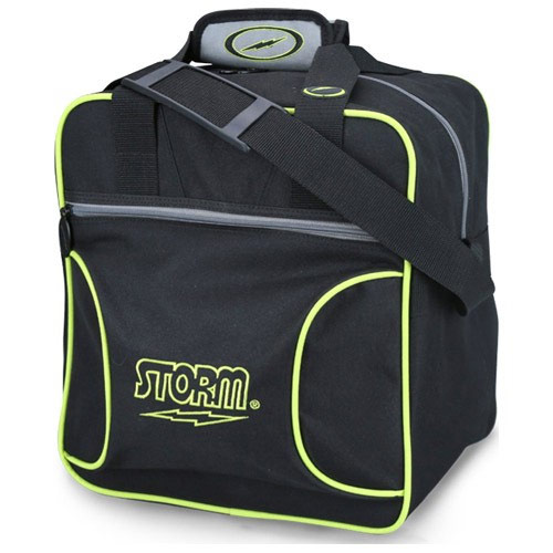 Solo 1-Ball Tote Black/Gray/Lime
