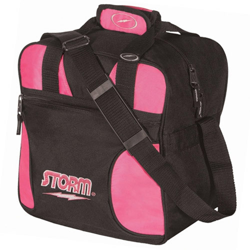 Solo 1-Ball Tote Black/Pink