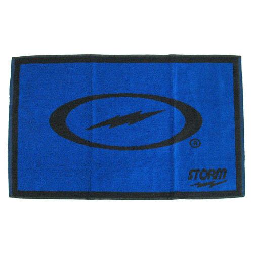 Blue/Black Woven Towel