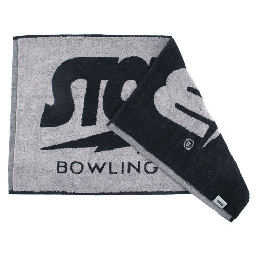 Logo Black/Gray Towel