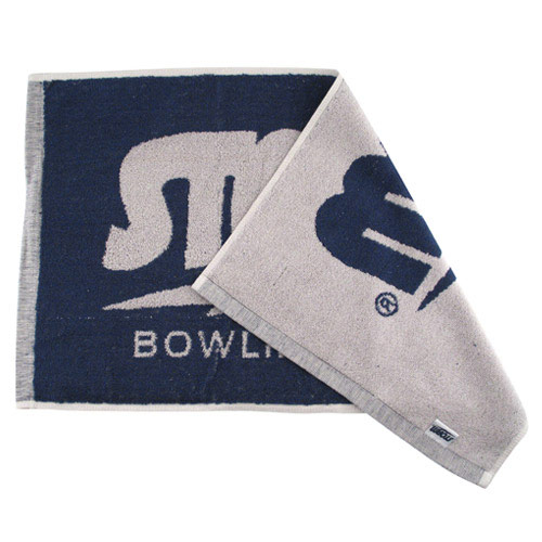 Logo Gray/Navy Towel
