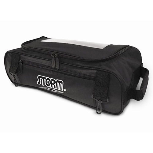 3 Ball Tournament Shoe Bag Black