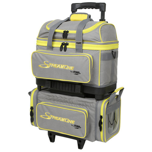 Streamline 4 Ball Roller Gray/Black/Yellow