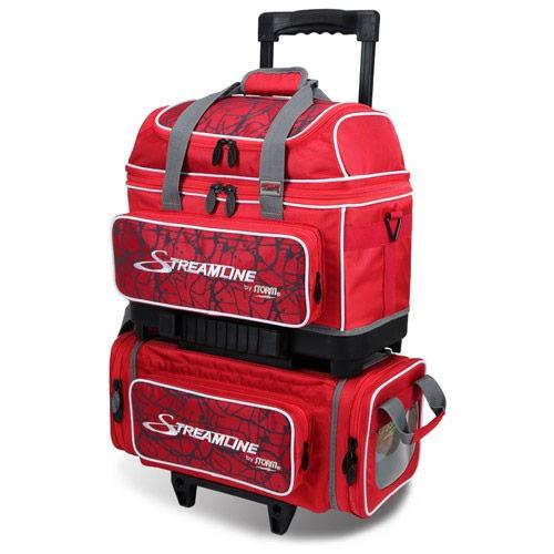 Streamline 4 Ball Roller Red Crack/Red