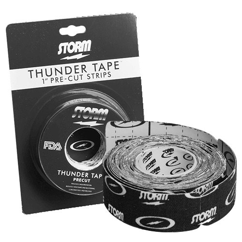 Thunder Tape Pre Cut Black 1 Inch