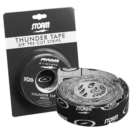 Thunder Tape Pre Cut Black 3/4 Inch