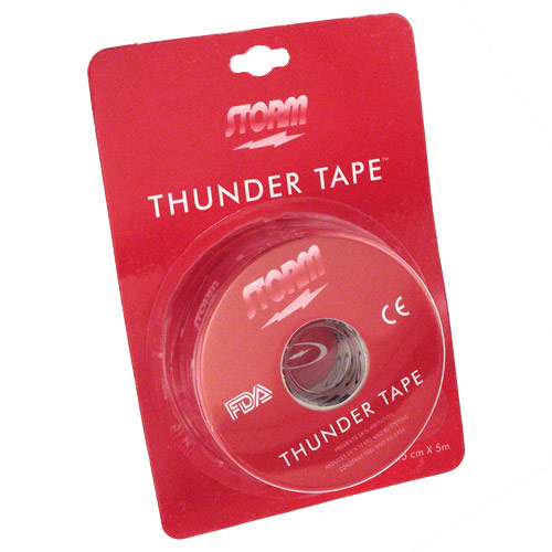 Thunder Tape Red Single Roll