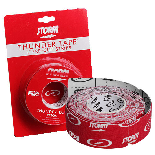 Thunder Tape Pre Cut Red 1 Inch