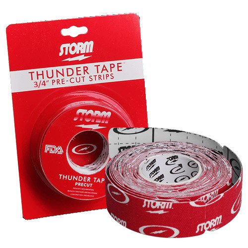 Thunder Tape Pre Cut Red 3/4 Inch