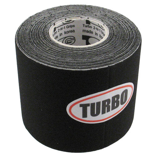 "Patch Tape 2"" Width Black Smooth"