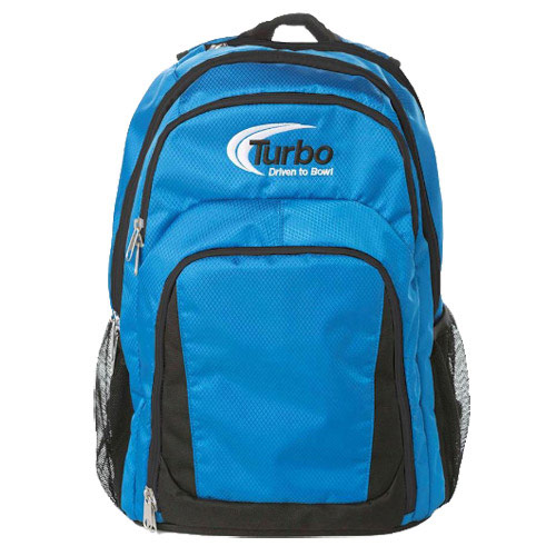 Smart Backpack Electric Blue/White