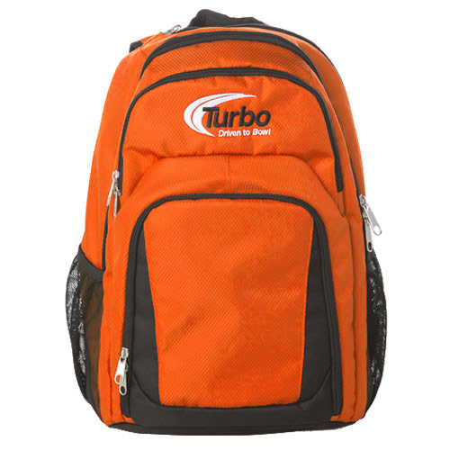 Smart Backpack Orange/Black