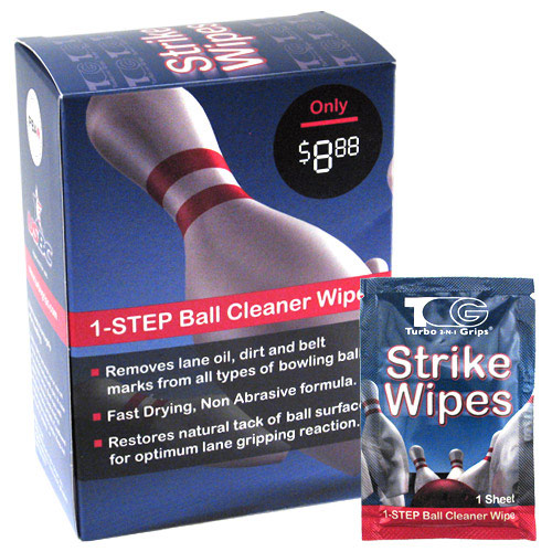 Strike Wipes Ball Cleaner Wipes Pkg/25