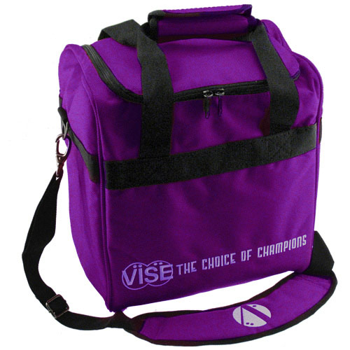 Single Ball Tote Purple