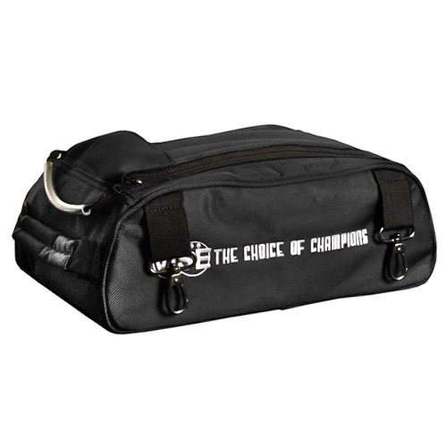 Shoe Compartment For 2 Ball Bag Black