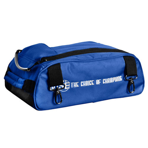 Shoe Compartment For 2 Ball Bag Blue