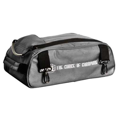 Shoe Compartment For 2 Ball Bag Gray