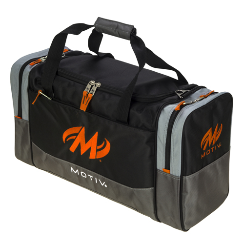 Shock Double Tote Black/Orange
